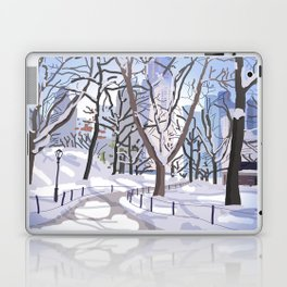 The veins of Central Park Laptop & iPad Skin