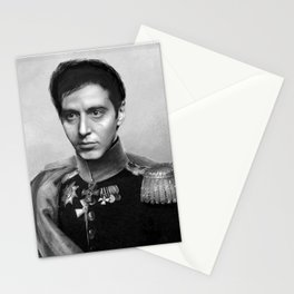 Al Pacino Scar Face General Portrait Painting | Fan Art Stationery Cards