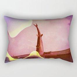 the headington shark Rectangular Pillow