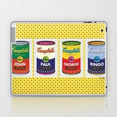 Horizontal Beatle Soup Cans Laptop & iPad Skin