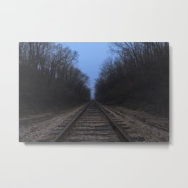 The Next Stop Metal Print