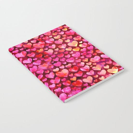 Heart Pattern 03 Notebook