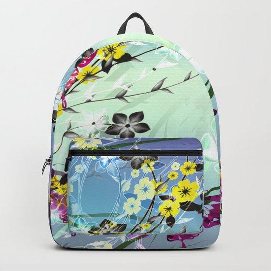 Floral Fantasy Backpack