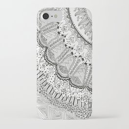 Doodle Madness iPhone Case