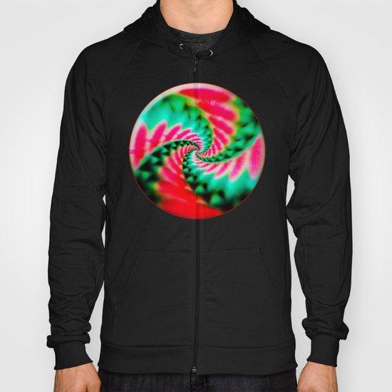 Cosmic Watermelon Swirl Hoody