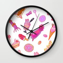 Sea Slugs and Small Sweets in Digital Wall Clock
