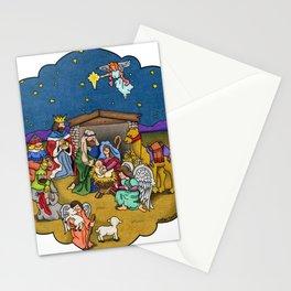 A Nativity Scene Stationery Cards