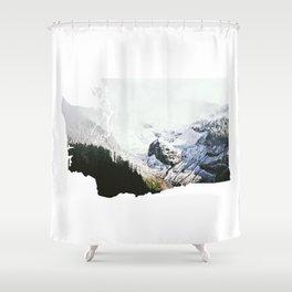 I Love Washington II Shower Curtain