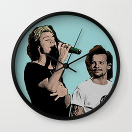 Pop Art Larry Stylinson  Wall Clock