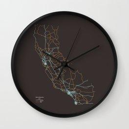California Highways Wall Clock