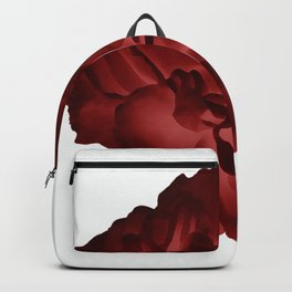 Red peony Backpack
