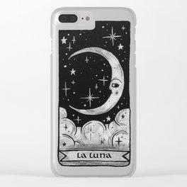 La Luna Clear iPhone Case