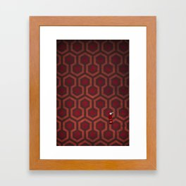 the Shining Rug & Room 237 Framed Art Print