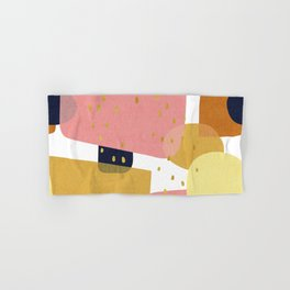 Conglomeration in Pastel Hand & Bath Towel