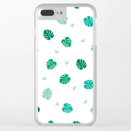 Peachy Passion Clear iPhone Case