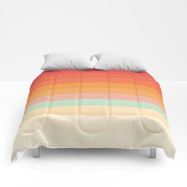Rainbow Chevrons II Comforters