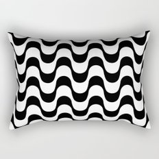 Copacabana sidewalk Rectangular Pillow