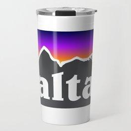 Alta Utah Ski Skiing Deer Valley Park City Trail Map Mountain Travel Mug