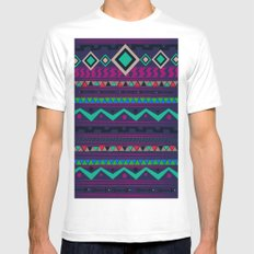 Native White MEDIUM Mens Fitted Tee