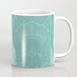 Teal Reality Coffee Mug