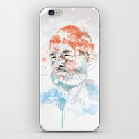 murray iPhone & iPod Skins featuring Bill Murray by I AM DIMITRI