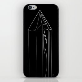 """"""" Abstract Collection """" - Crystal #2 iPhone Skin"""