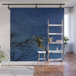 Nature and greenery 14 with reed Wall Mural