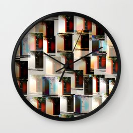 Puzzle entrance Wall Clock