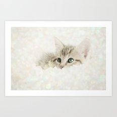 Snow Baby Art Print