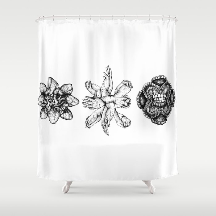 Bound : Love Shower Curtain by sinpiggyhead | Society6