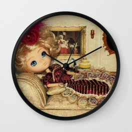 """""""Let them eat cake!"""" Wall Clock"""