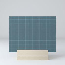 minimalistic cell design Mini Art Print