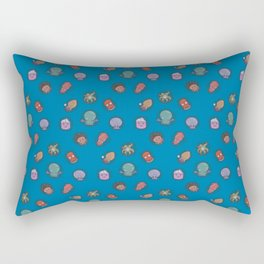 A Tangle of Tentacles Rectangular Pillow
