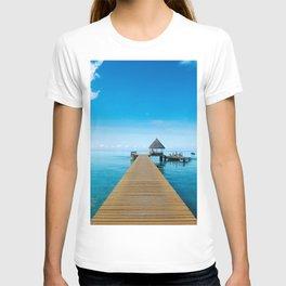 Tahiti Boat Dock T-shirt