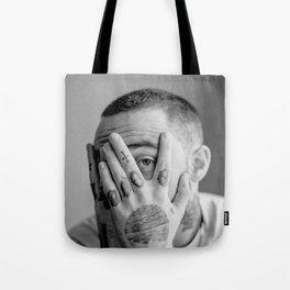 Mac Black And White Tote Bag
