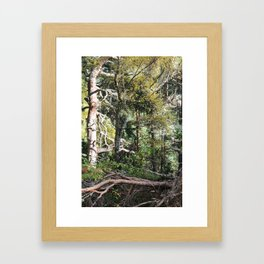 Be still! Look at me! Framed Art Print