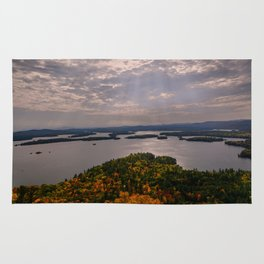 Squam Lake, 5-Finger Point Rug