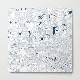 The Infinite Drawing Metal Print