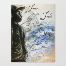 Time and Tide Canvas Print