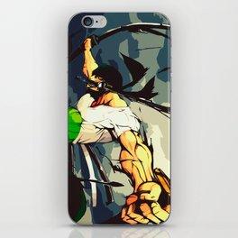 One Piece Zoro iPhone Skin