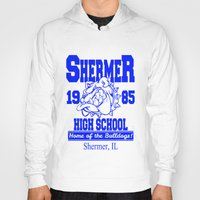 breakfast club Hoodies featuring The Breakfast Club  |  Shermer High School Logo  |  John Hughes Universe by Silvio Ledbetter