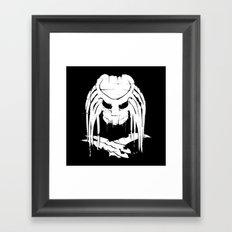 Pochoir - Predator Framed Art Print