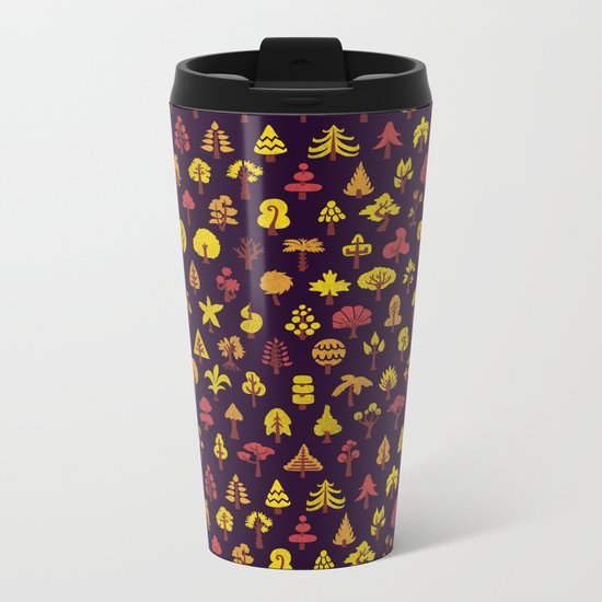 Autumn Mix Metal Travel Mug