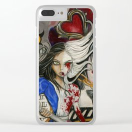 Alice the madness returns Clear iPhone Case