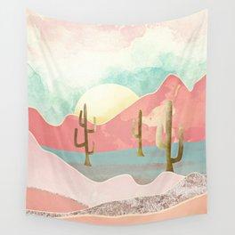 Desert Mountains Wall Tapestry