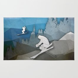 The Skiers Rug