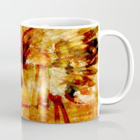 dreamcatcher Mugs featuring Dreamcatcher by valzart