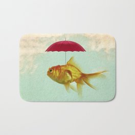 under cover goldfish 02 Bath Mat