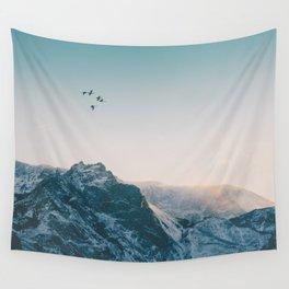 Evening Flight Wall Tapestry