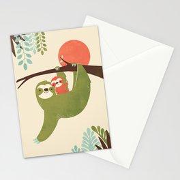 Mama Sloth Stationery Cards